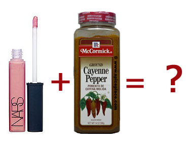 DIY: Cayenne + Lip Gloss = Hotness