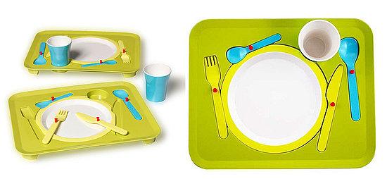 Table Manners: Trays Help Keep Food on Table