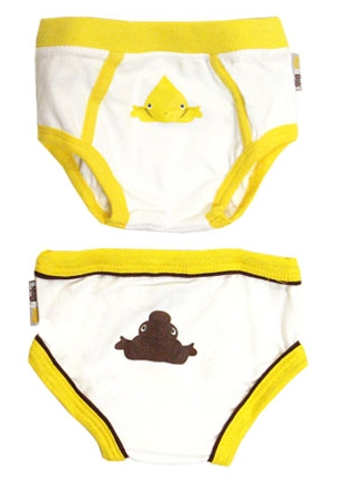 Silly Training Briefs Celebrate Potty Humor