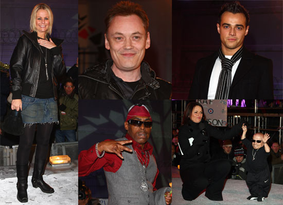 Photos Of Celebrity Big Brother 2009 Live Final, With Winner Ulrika Jonsson, Coolio, Verne Troyer, Davina McCall, Ben Adams etc