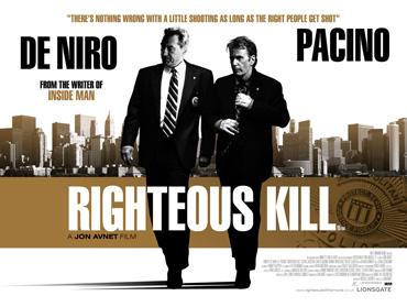 Trailer Of Righteous Kill Featuring Robert De Niro, Al Pacino, 50 Cent, Carla Gugino, John Leguizamo and Donnie Wahlberg