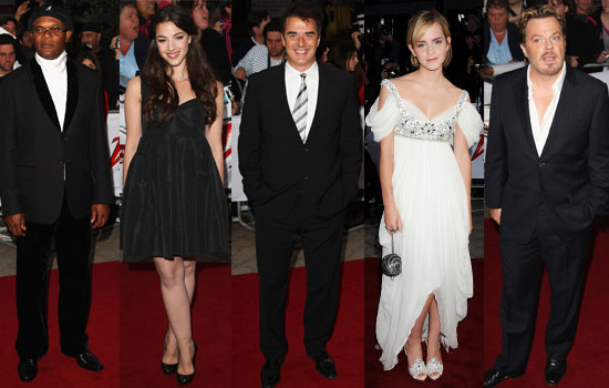 Photos From The 2008 National Movie Awards Feat Emma Watson, Chris Noth, Olivia Thirlby, Eddie Izzard, Samuel L Jackson and more