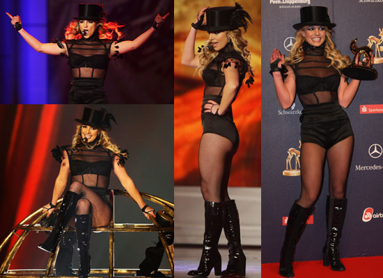 Watch Britney Spears Perform at Bambi Awards, and See Photos of Britney and Karl Lagerfeld Plus All the Winners at Bambi Awards