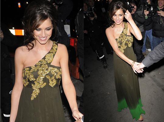 Cheryl Cole, National Television Awards 2008, Red Carpet, Matthew Williamson