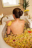 Home Spa Like Tony and Cherie Blair's £28,950 Exercise Massage Pool. At Home Spa Treatments Rise in Popularity
