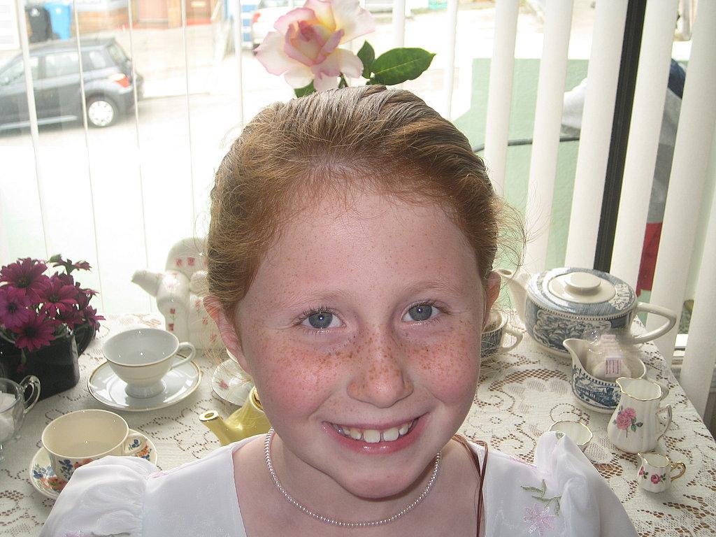 Caitlin's 8th Birthday Tea Party