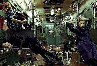 Alberta Ferretti Fall 2008 Gives Girls the Subway Slump