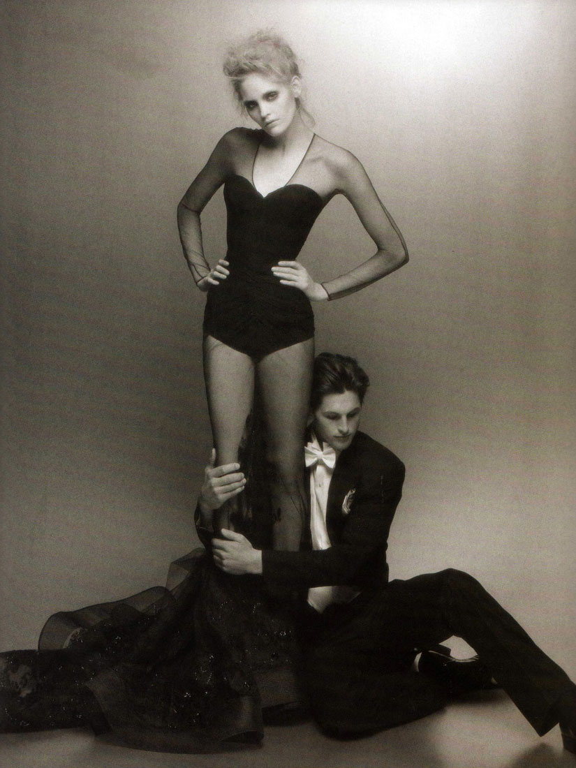 Karl Lagerfeld: Still Bobbing Along for Numero September 2008