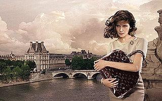 Laetita Casta Takes Paris for Louis Vuitton