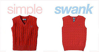 Simple or Swank: Red Sweater Vests