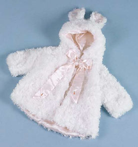 Lil Mark: Festive Winter Coats For Girls