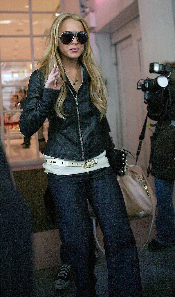Lindsay Shows NYC Her New Look