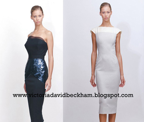 Victoria Beckham Dresses unveiled. Love it or Hate it?