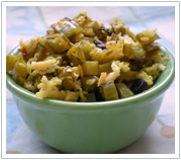 Jiva Ayurveda Recipes - Nutritious Cluster Beans (Gawar ki phalli or Goopshimbi)