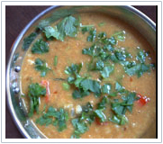 Jiva Ayurveda Recipes - Tridoshic Dal(Mung Chilka)