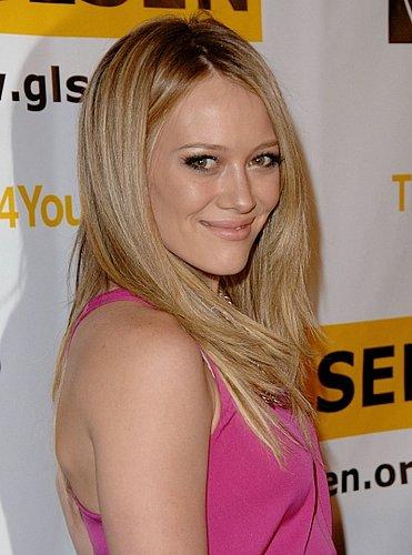 Hilary Duff Pretty In Pink