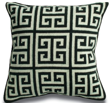 Steal of the Day:  Jonathan Adler Greek Key Pillow