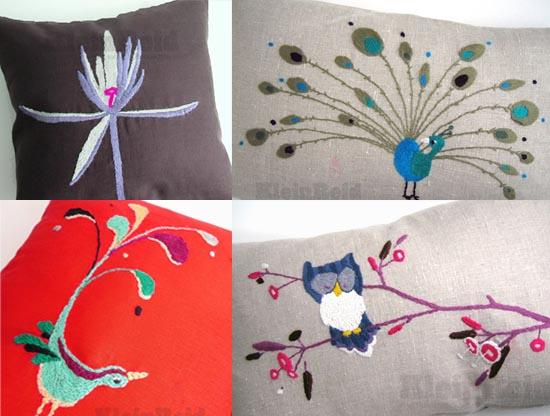 Crave Worthy: Klein Reid Flora & Fauna Pillows