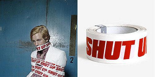 Love It or Hate It? Shut Up Tape