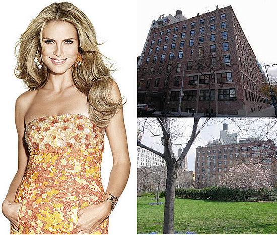 This Just In:  Heidi Klum Loses Benjamins on Bank Street