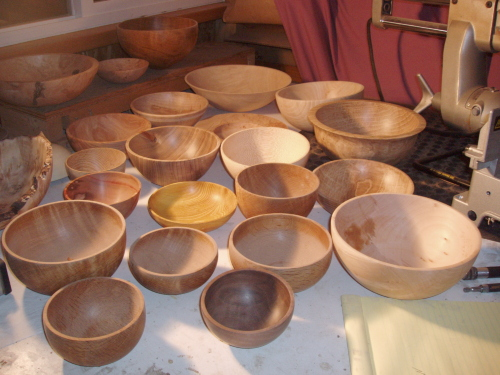 Turning Wooden Bowls Videos