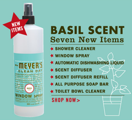 Nice and New: Mrs. Meyer's Basil Collection