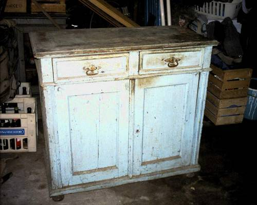 Before and After: Grandma's Sideboard, Refreshed