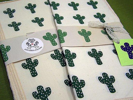 Etsy Find: Cactus Picnic Napkin Set