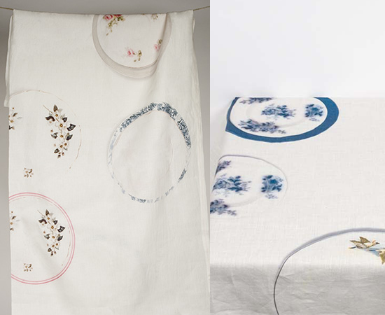 Nice and New: Lisa Stickley Tablecloths