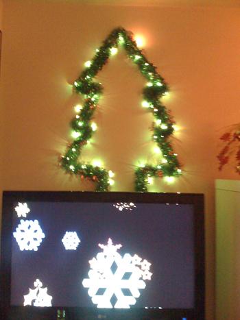 Su Casa: Citygal's 2-D Christmas Tree