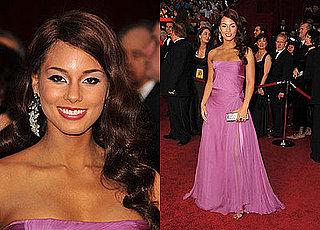 Oscars Red Carpet: Alicia Keys
