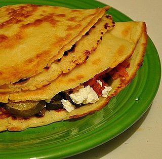 Ratatouille Crepes With Goat Cheese