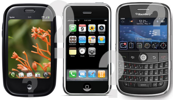 Deciding Between the Palm Pre, iPhone 3.0, and a New BlackBerry — Which Would You Rather Buy?