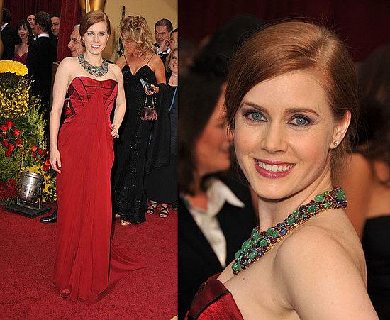 Oscars Red Carpet: Amy Adams