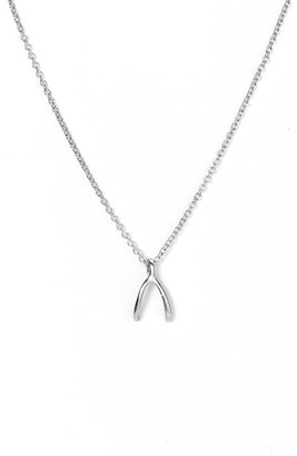 The Look For Less: Dogeared Wishbone Necklace