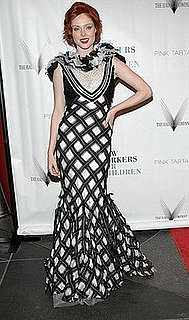 Model Coco Rocha Attends New Yorkers For Children Spring Dinner Dance in Black and White Zac Posen