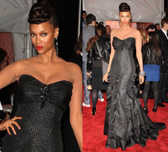 The Met's Costume Institute Gala: Tyra Banks