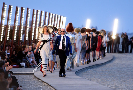 Chanel 2010 Cruise Fashion Show in Venice, Italy