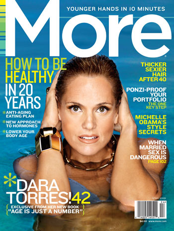 Dara Torres Interviewed in April Issue of More Magazine