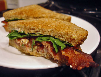 Feta Cream Cheese BLT