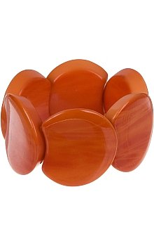 Charlotte Russe - Marbleized Circle Bracelet