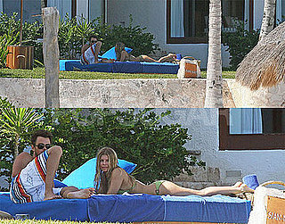 Fergie and Josh in Mexico