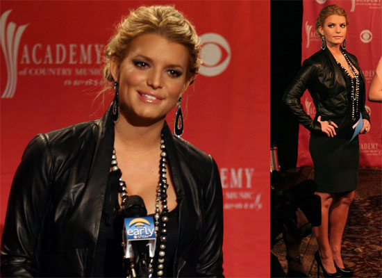 Photos, Videos of Jessica Simpson on The Early Show Announcing ACM Awards, Talking About Being So Happy After Weight Controversy