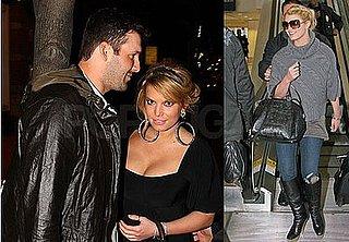 Jessica Simpson and Tony Romo in NYC