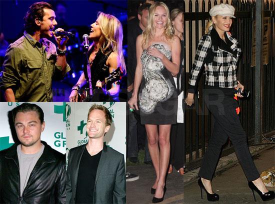 Photos of Gwen Stefani, Gavin Rossdale, Kate Bosworth, Leonardo DiCaprio at Global Green Party