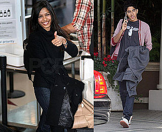 Slumdog Cast Out and About in LA