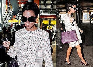 Photos of Victoria Beckham at Heathrow Airport