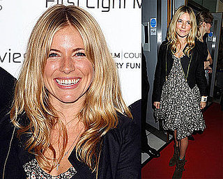 Photos of Sienna Miller at London's First Light Movie Awards