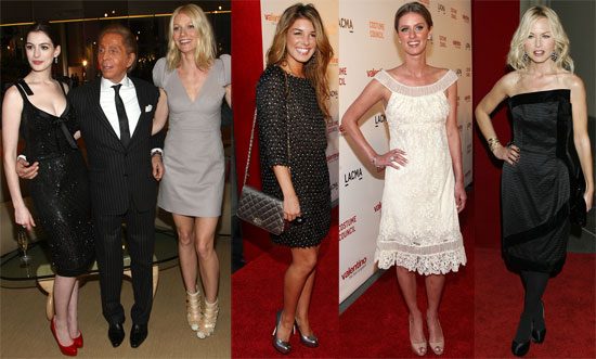 Photos of Gwyneth Paltrow, Anne Hathaway, Nicky Hilton, Rachel Zoe at Valentino: The Last Emperor in LA