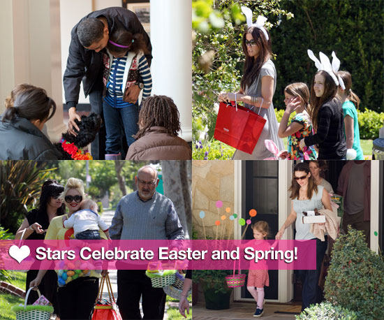 Stars Celebrate Easter and Spring!